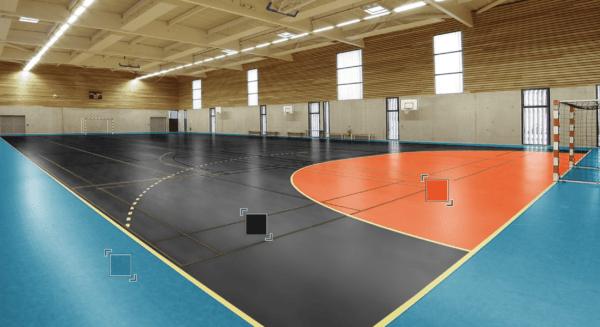 Спортивный Линолеум Tarkett OMNISPORTS R35, R65, R83 BLACK.Симферополь