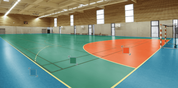 Спортивный Линолеум Tarkett OMNISPORTS R35, R65, R83 FIELD GREEN.Севастополь