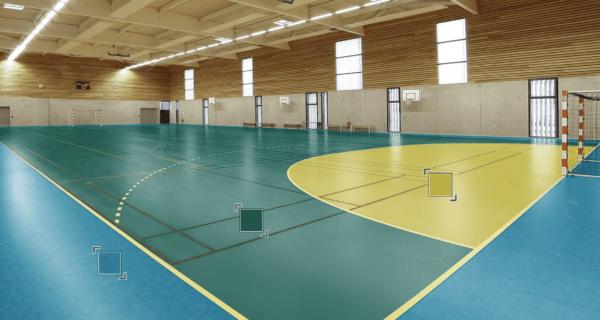 Спортивный Линолеум Tarkett OMNISPORTS R35, R65, R83 FOREST GREEN.СИмферополь