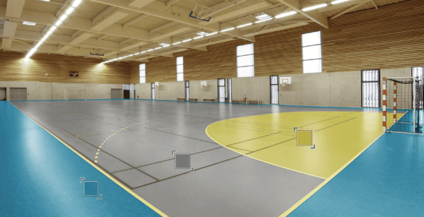 Спортивный Линолеум Tarkett OMNISPORTS R35, R65, R83 GREY.Симферополь