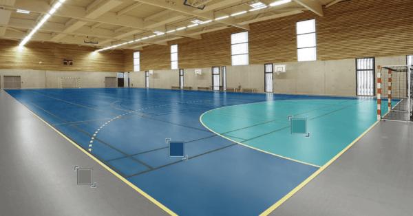 Спортивный Линолеум Tarkett OMNISPORTS R35, R65, R83 ROYAL BLUE.Симферополь